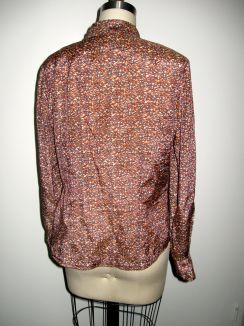 Vogue 8772 nectarine silk:cotton back