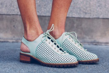 Zapatos Decca Pistacho