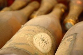 Roederer Cristal bottle ecoluxurystyle weddings