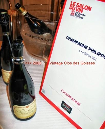 Cherie du Vin Clos des Goisses 2003 photo c. paige donner 1