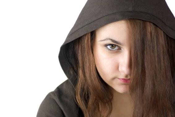 bully angry girl victim