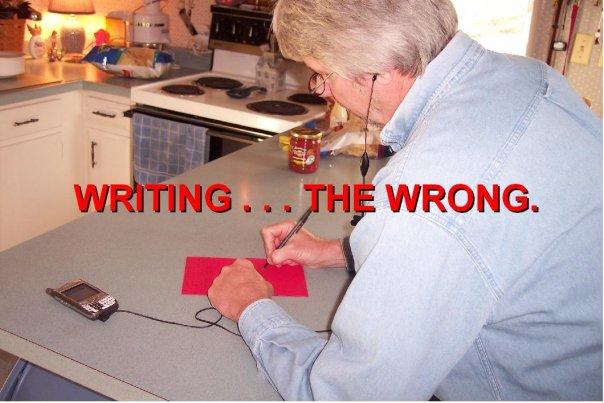 writing-the-wrong