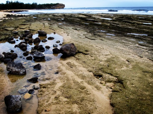Rocks at Shipwrecks Beach.