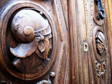 Door, Albayzin, Granada, Spain.
