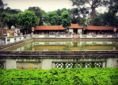 Courtyard at the Temple of Literature