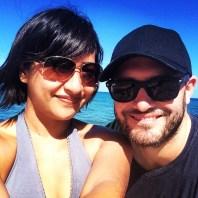 Obligatory selfie from Flat Island.