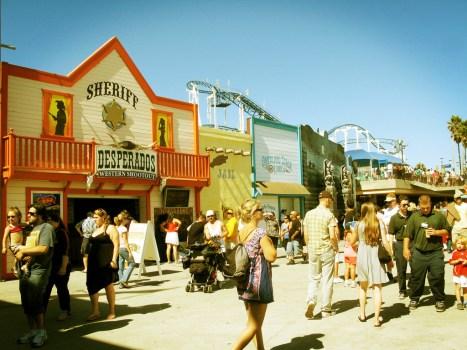 Santa Cruz Boardwalk, California