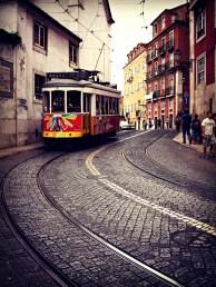 Tram 28, Miradouro de Santa Luzia, Lisbon