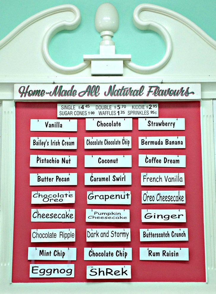 Bailey's Bay Ice Cream Parlour, Bermuda