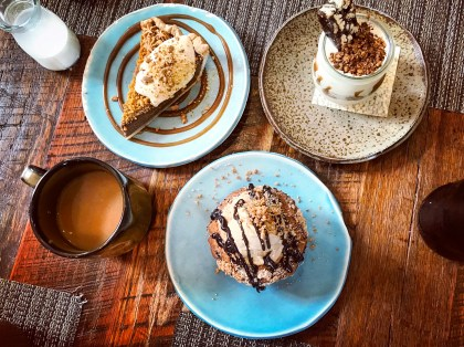 Desserts at Husk.