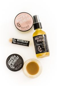 Herban Myth Botanicals all natural products handmade first aid salve and beauty oil.