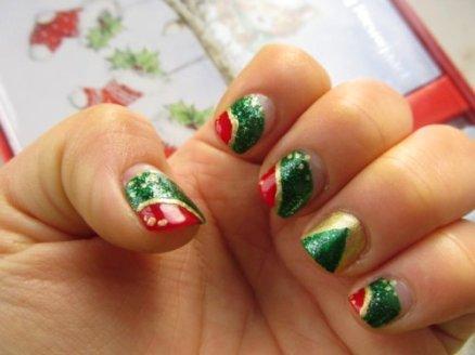Christmas nails2