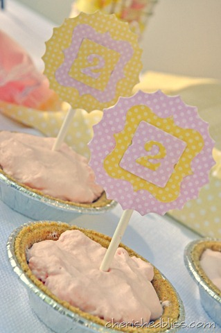 Mini Pie Toppers