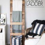 Diy Blanket Ladder Free Plans Cherished Bliss