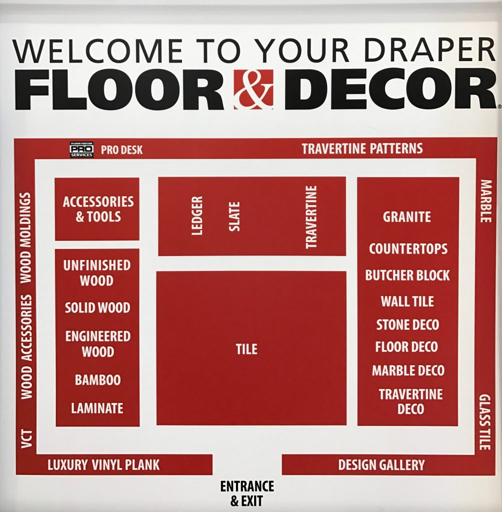 floor and decor store tour