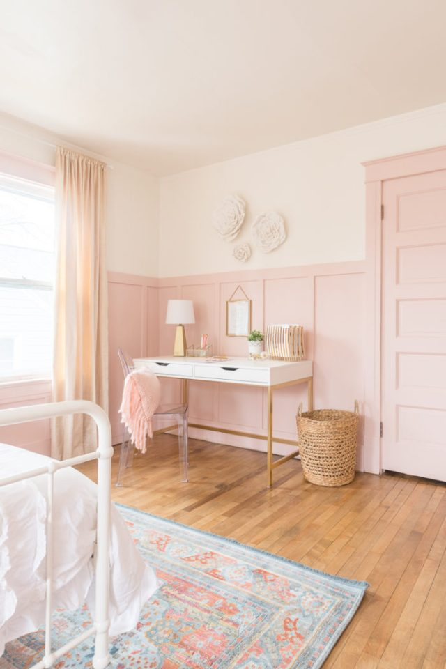 Pink Gold Girls Bedroom Decor Ideas Cherished Bliss