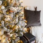 White And Copper Christmas Tree Decor Cherished Bliss