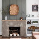 Modern Rustic Minimalist Fall Mantel Styling Cherished Bliss