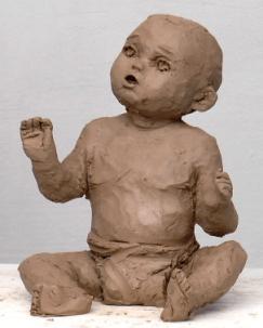 תרגיל פיסול גוף של ילד