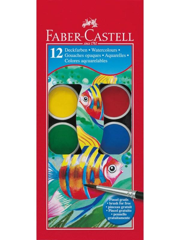 סט צבעי מים Faber Castell