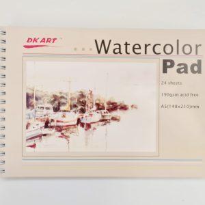 בלוק ציור לצבעי מים A5