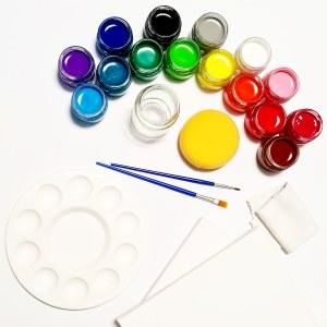סט צבעי גואש מורחב