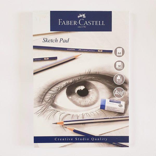 בלוק סקיצה Faber Castell A4
