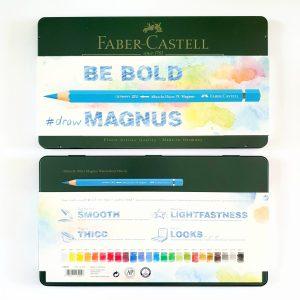 עפרונות מים עבים A.Durer Faber Castell Magnus