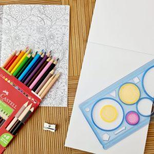 Набор для рисования и рисования мандалы