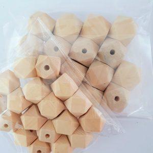 Ребристые деревянные бусины