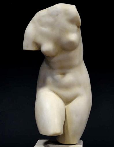 Venus torso statue