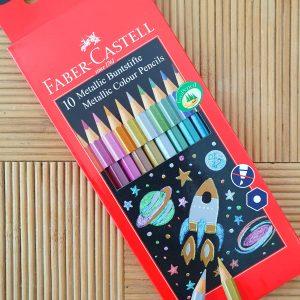 סט עפרונות מטאליים