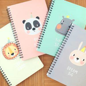 A5 notebook designed notebook