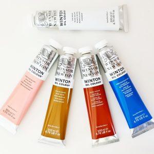 צבעי שמן Winsor&Newton