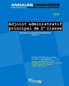 annales concours adjoint administratif