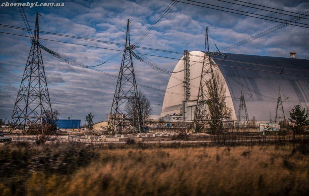Chernobyl new safe confinement / sarcophagus   news