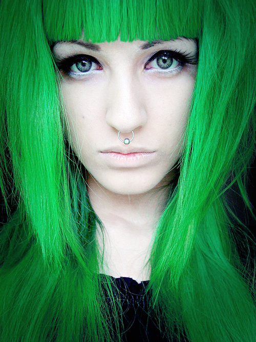 Green Hair Dye Color Wigs Amp Extensions Cherry Ambition