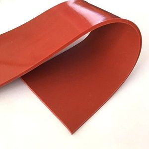 CHERRY SILICON SKIRTING RUBBER SHEET