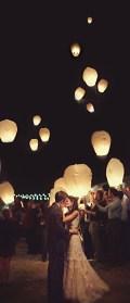 Wedding Wish Lanterns