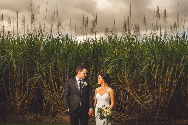 Kelly & Ryan's Tropical Oasis Wedding by Matthew Evans Photography