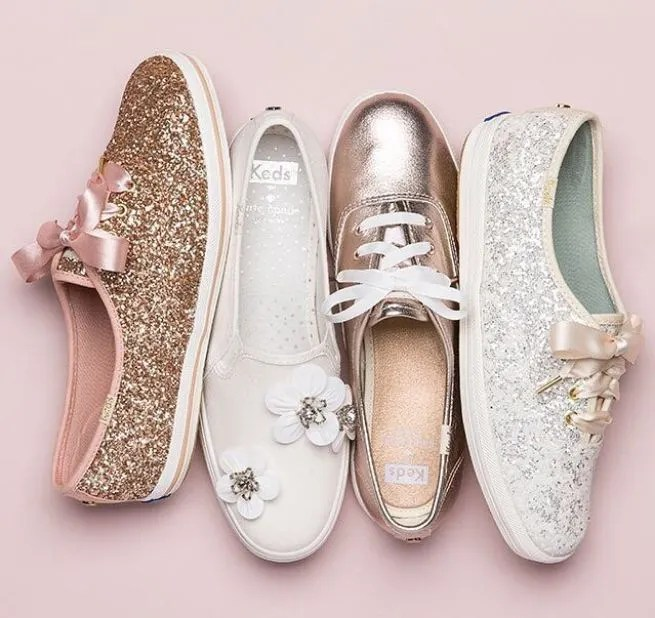 Keds x kate spade wedding sneakers are the best bridal shoes ever keds x kate spade wedding sneakers are the best bridal shoes ever junglespirit Images