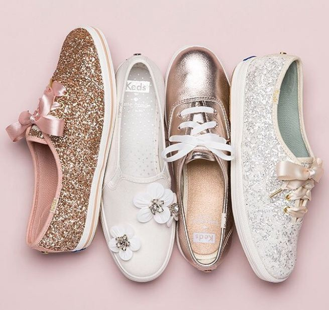 Keds x Kate Spade Wedding Sneakers Are The Best Bridal Shoes Ever