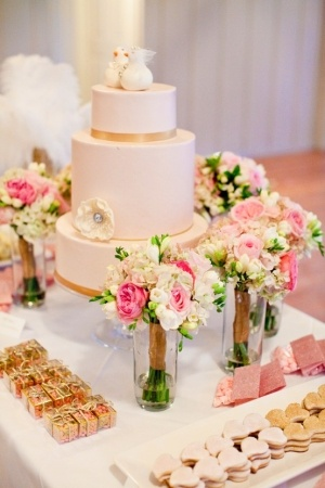 Sweeten Up Your Wedding Reception: Dessert Tables and other Food Bars
