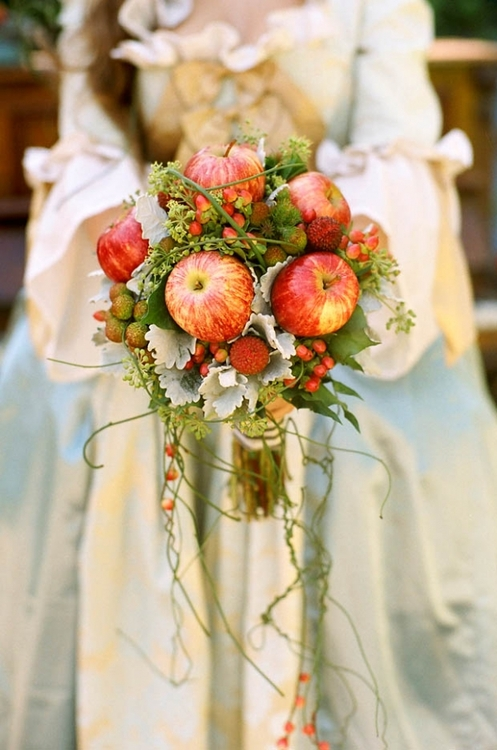 apple bouquet