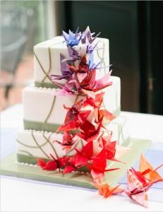 origami cake topper 2