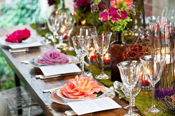 Movie monday a midsummer night s dream wedding blog - Deco table exotique ...