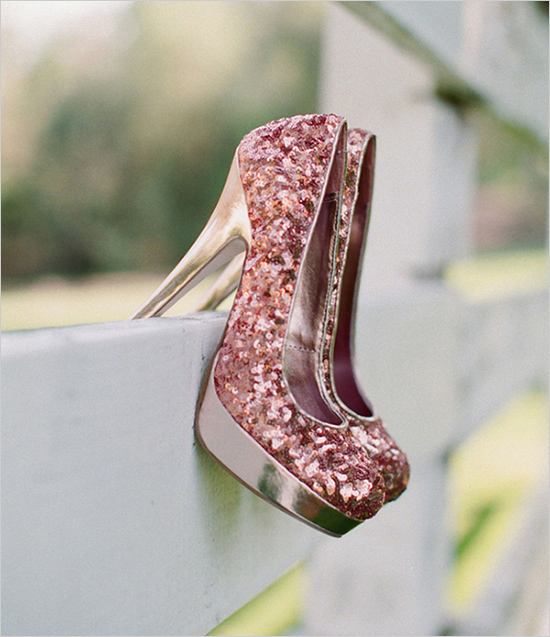 Sparkly Wedding Shoes 9