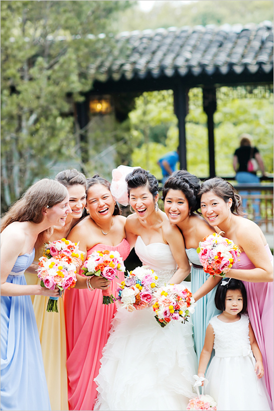 Pastel Bridesmaid Dresses 12