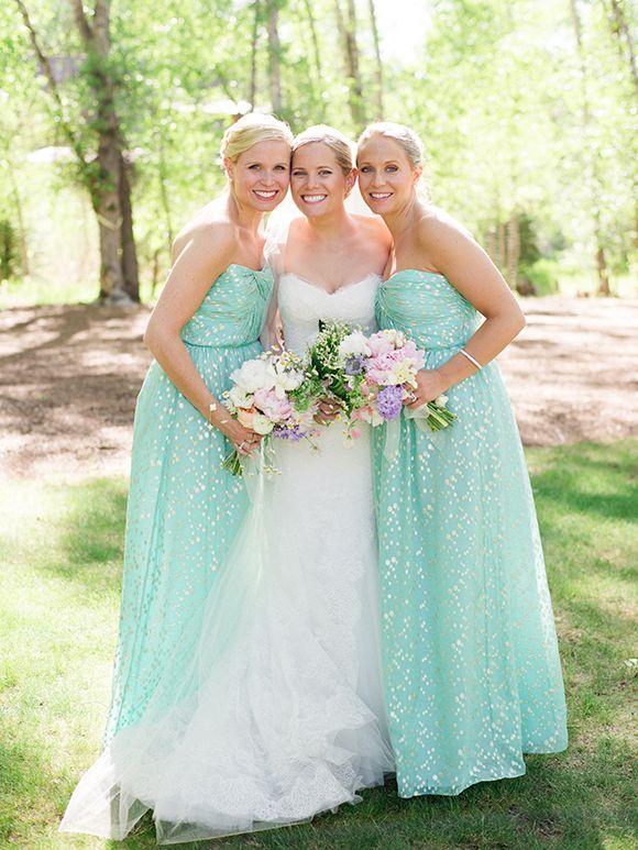 Pastel Bridesmaid Dresses 5