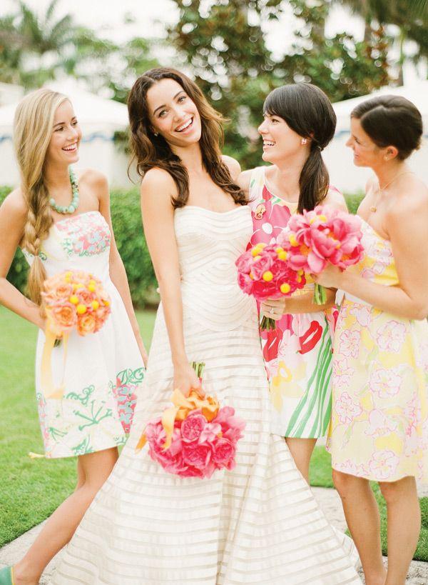 Bridesmaids - Florals